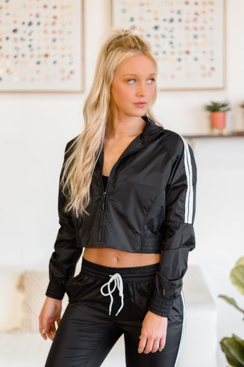 Hustle Around Cropped Jacket