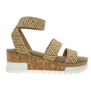 Social Life Platform Sandal