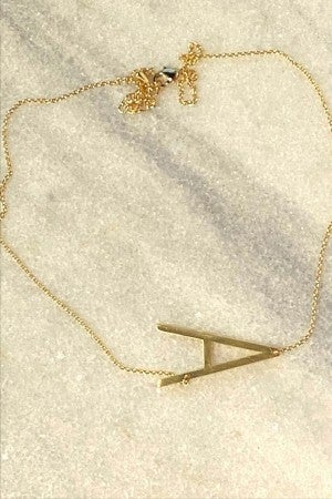Initially Mine Necklace