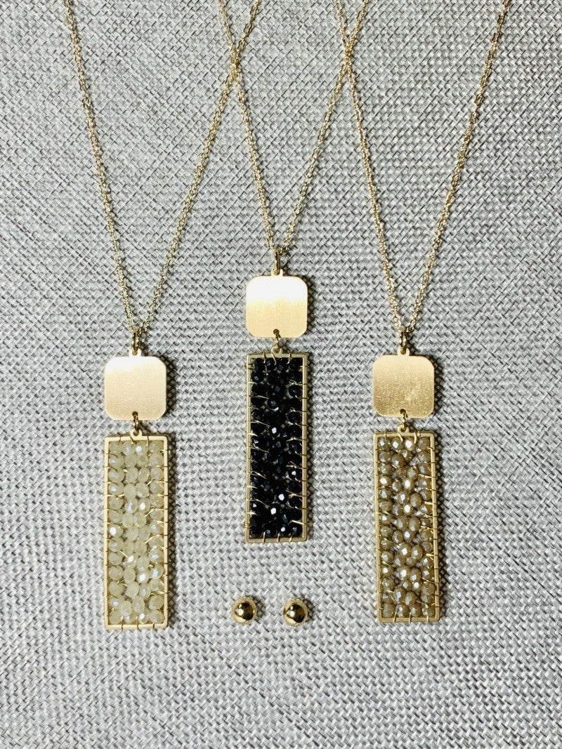 Just What I Needed Necklace Set