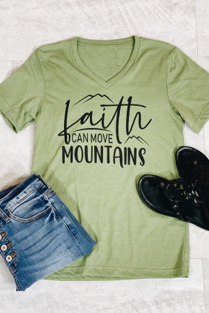 Can Move Mountains Graphic Tee