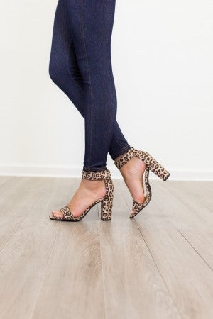 Take A Step Back Heel