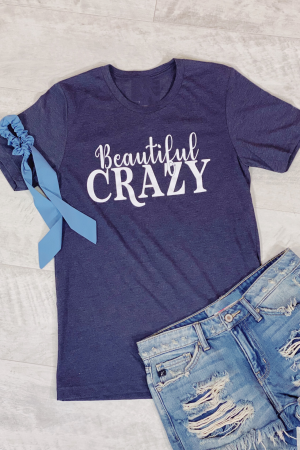 Beautiful Crazy Graphic Tee