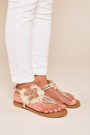 Petal To The Metal Sandal