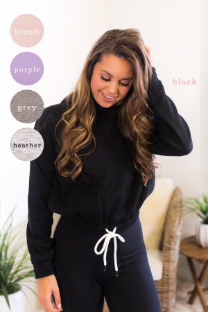 On Her Own Cropped Pullover