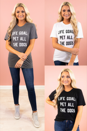 Life Goal Graphic Tee