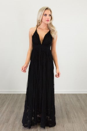 Can't Be Alone Maxi Dress