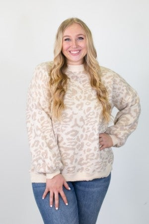 Snow In Love With My Cheetah Top