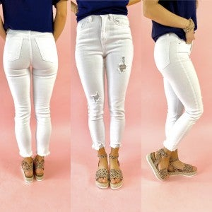 White Vintage Dream Denim