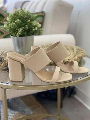 West Village Double Strap Sandal