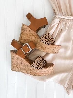 Cheetah Cheetah Platform Sandal