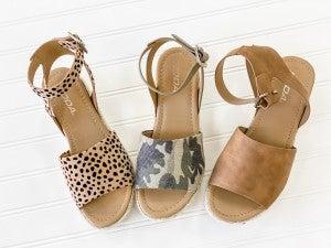 Step Into Spring Platform Sandal