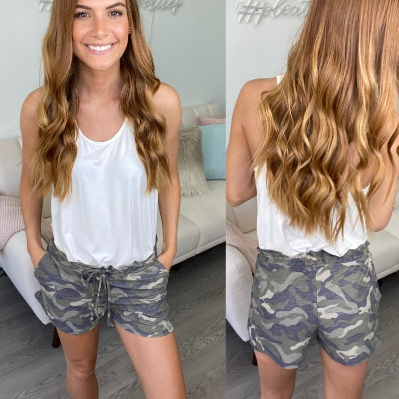 Parade Rest Camo Lounge Shorts