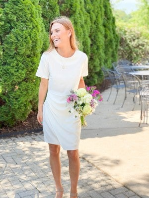 Kiss the Bride White Dress