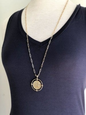 Make a Statement Coin Necklace