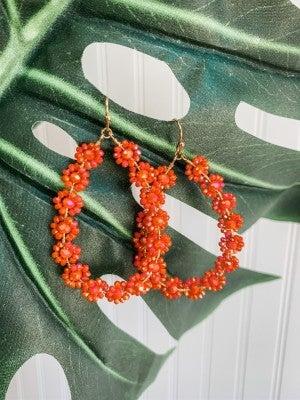 Just Peachy Earrings