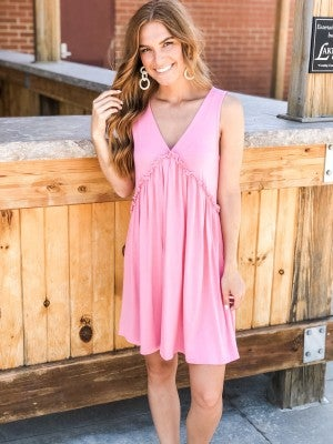 Hold My Hand Babydoll Dress
