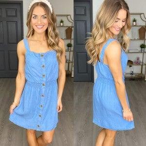 Backroad Denim Dress