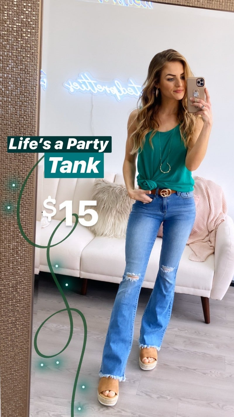 Life's a Party Basic Tank