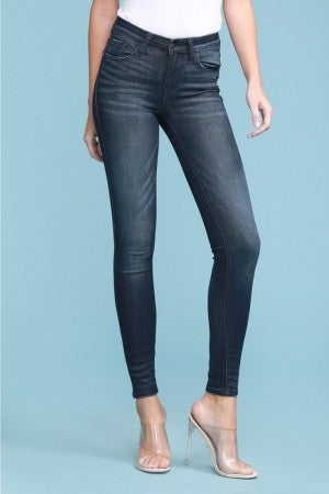Judy Blue mid-rise rayon skinny jeans