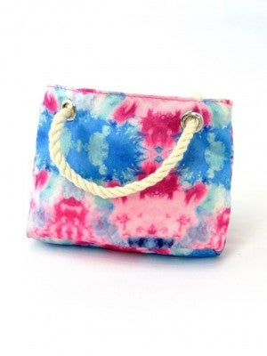 Tie-Dye Beach Bag for 18-inch doll