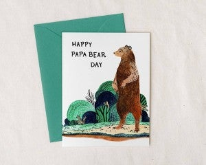 Happy Papa Bear Day - Father's Day Card