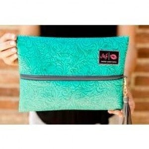 Makeup Junkie Bags : Turquoise Dream Bag