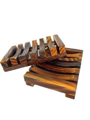 Wooden Bamboo Soap Dish