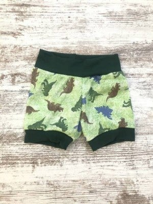 Dino Hunt Infant/Toddler Shorties : Jena Bug Baby Boutique