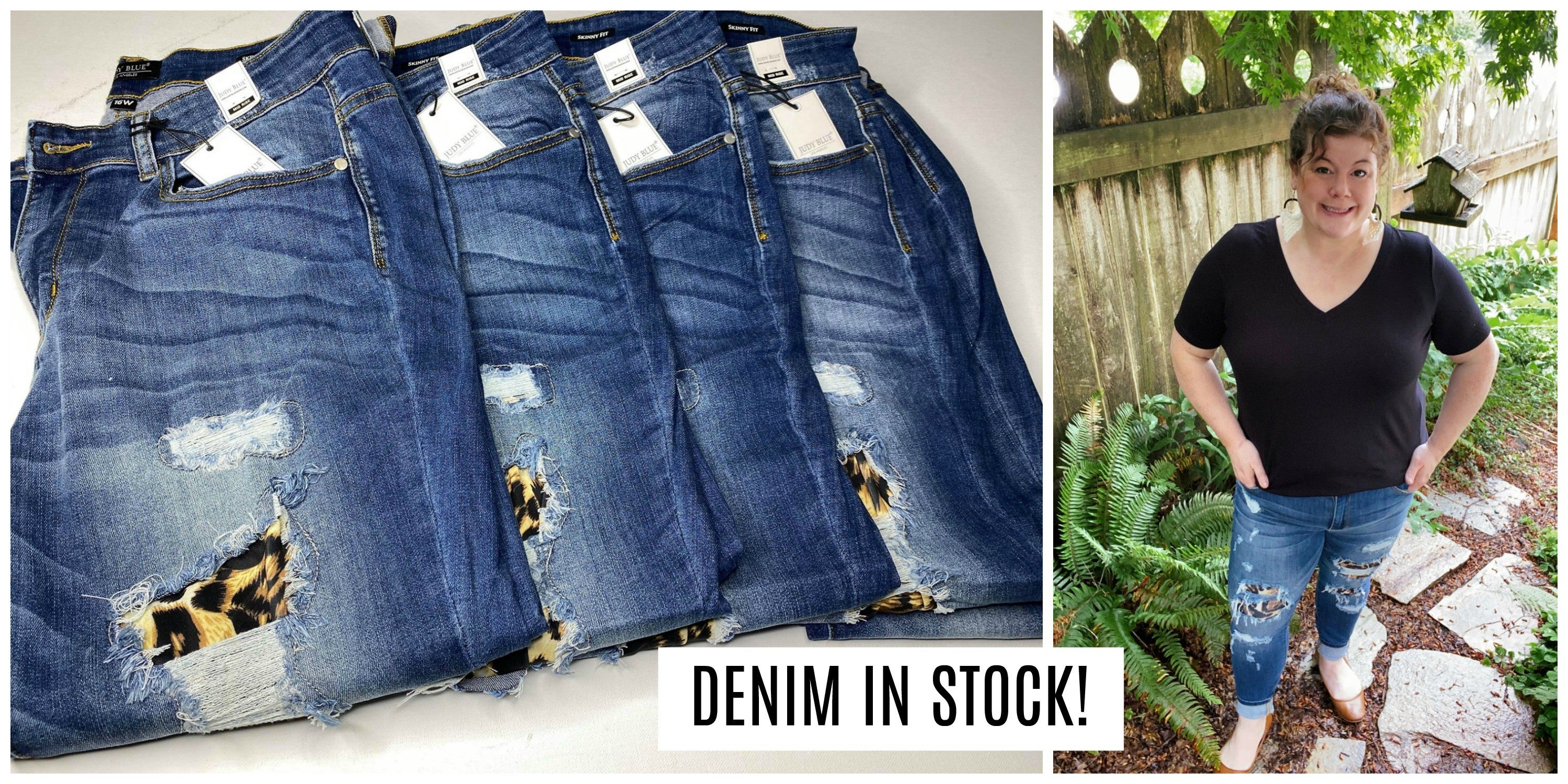 Denim in stock