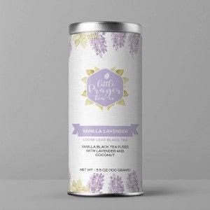 Vanilla Lavender Loose Leaf Black Tea - Dessert Tea : Little Prayer Tea Co.