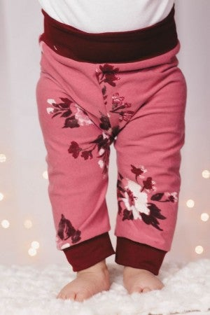 Marley Floral Baby Joggers : Jena Bug Baby Boutique