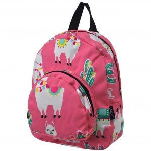 Llama World Small Backpack