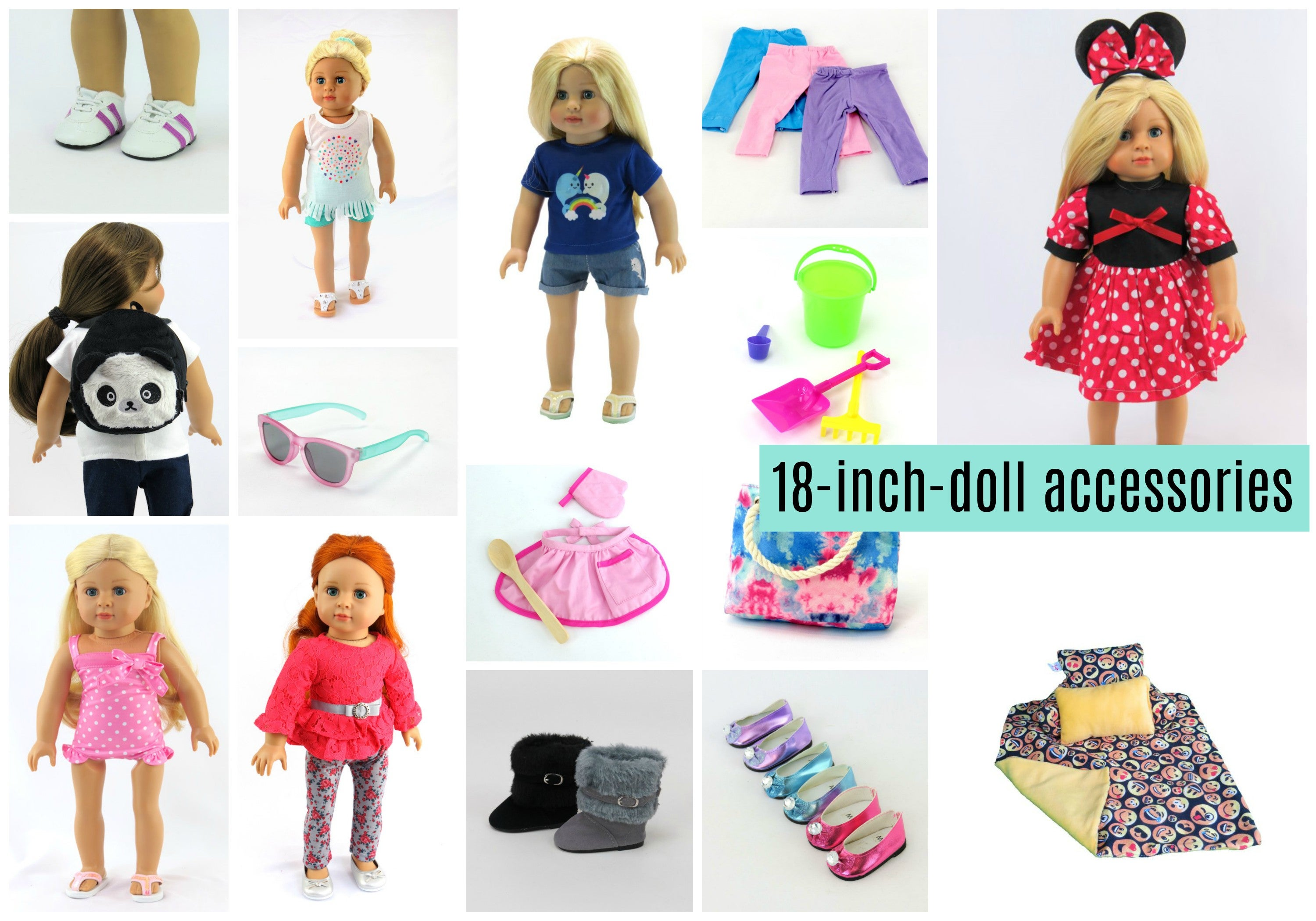 18-inch doll clothing and accessories
