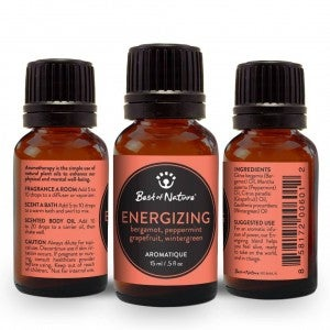 Energizing Aromatique Oil Blend : Best of Nature