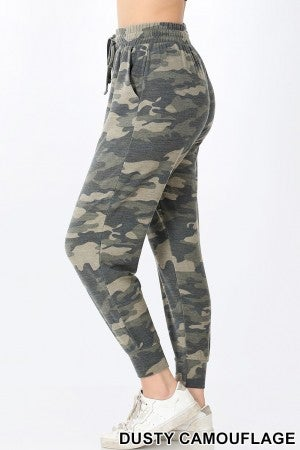 Dusty Camouflage Joggers