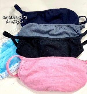 Breathable Mouth Covers with insert pockets.