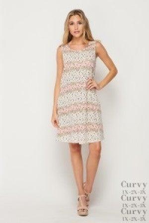 honeyme Sleeveless Tank Top Dress with Pockets