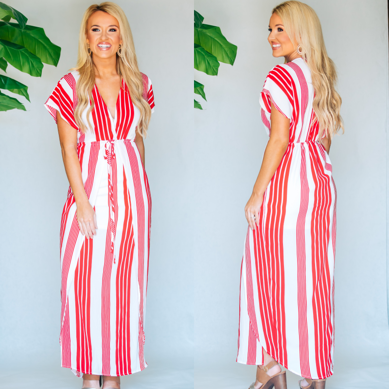 Dreaming Of You Striped Maxi