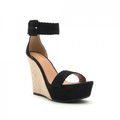 All or Nothing Wedges- Black