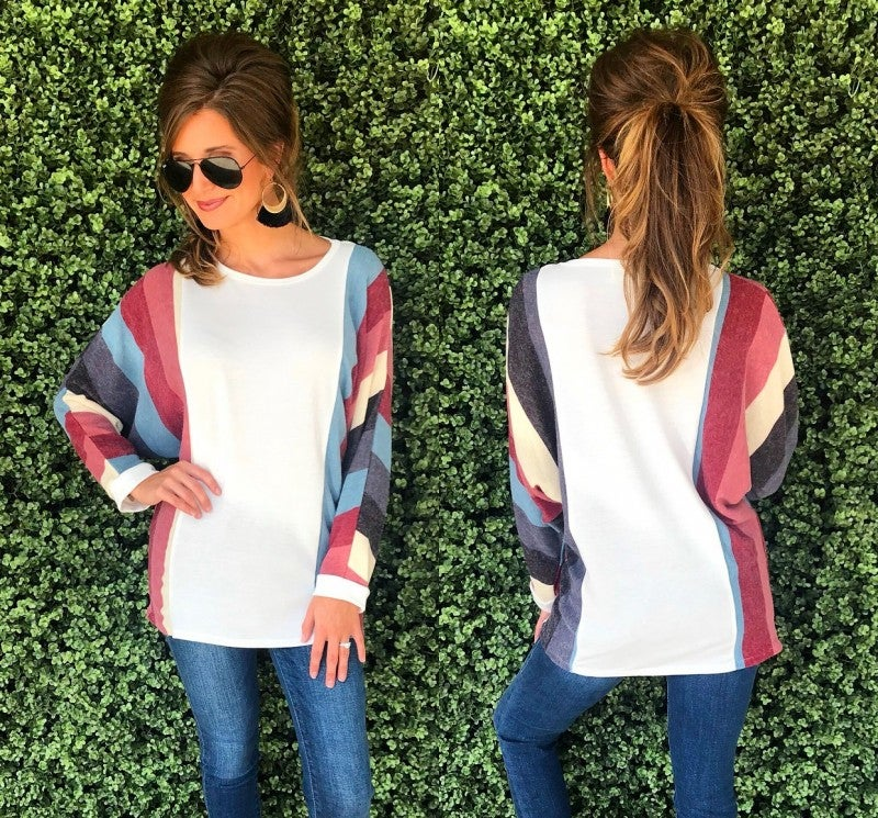Better For You Burgundy Combo Top