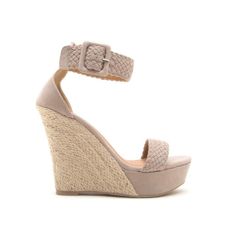 All or Nothing Wedges- Taupe