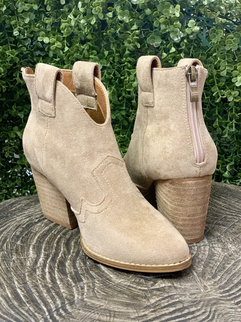 Abby Taupe Bootie