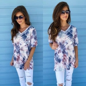 All About Tie Dye Top