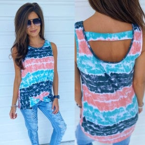 Hard To Forget Tie Dye Top