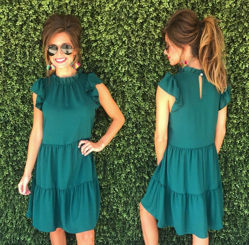 Better Together Dress- Green