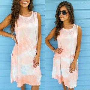 Stay Sweet Tie Dye Dress