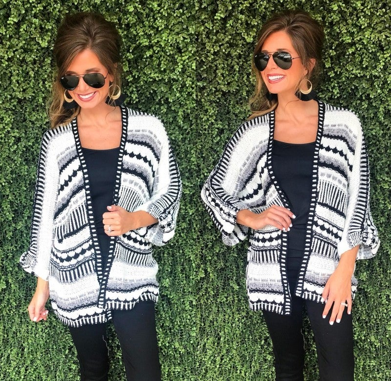 Cozy Knitted Cardigan