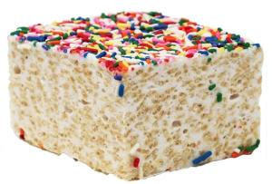 Rainbow Sprinkles Rice Crispy