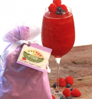 Very Berry Raspberry Wine Slushy Mix